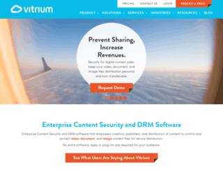 vitrium.com screenshot