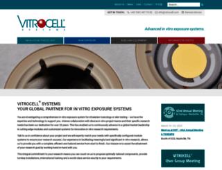 vitrocell.com screenshot