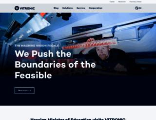 vitronic.com screenshot