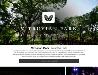 vitruvianpark.com screenshot