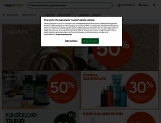 vitusapotek.no screenshot