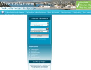 viva-calida.com screenshot