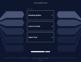 viva-read.com screenshot