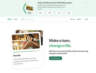 viva.kiva.org screenshot