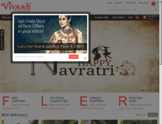 vivaahsari.com screenshot