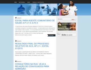 vivacomunidade.org.br screenshot