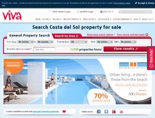 vivaestates.com screenshot