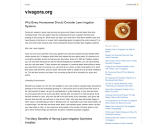 vivagora.org screenshot