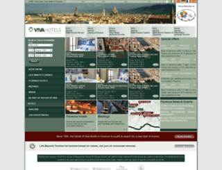 vivahotels.com screenshot