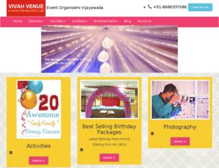 vivahvenue.com screenshot