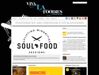vivalafoodies.com screenshot