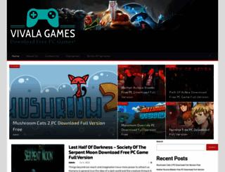 vivalagames.com screenshot