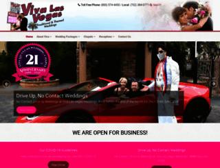 vivalasvegasweddings.com screenshot