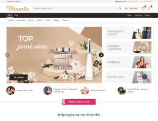 vivantis.sk screenshot
