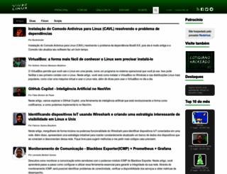 vivaolinux.com.br screenshot