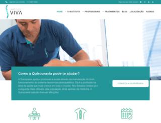 vivaquiropraxia.com.br screenshot
