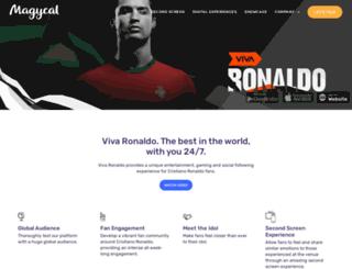vivaronaldo.com screenshot