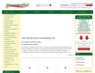 vivasanshop.net screenshot