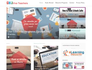 vivateachers.org screenshot