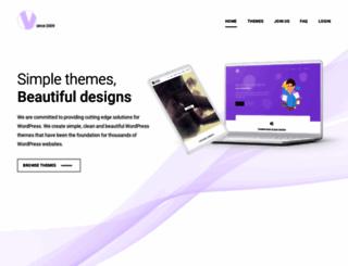 vivathemes.com screenshot