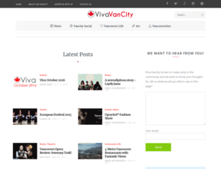 vivavancity.com screenshot