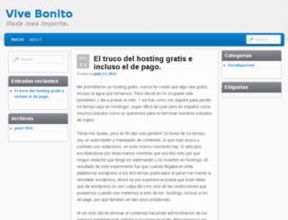 vivebonito.esy.es screenshot