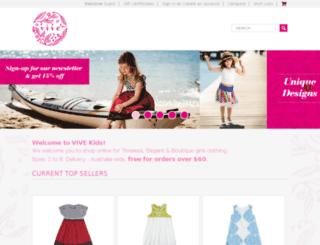 vivekids.com.au screenshot
