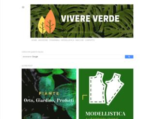vivereverde.blogspot.com screenshot