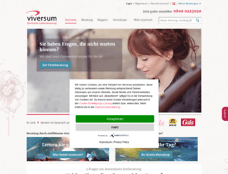 viversum.at screenshot