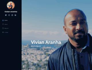 vivianaranha.com screenshot