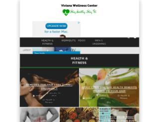 vivianawellnesscenter.in screenshot