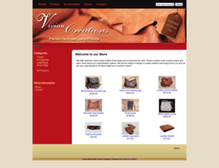 viviancreations.com screenshot