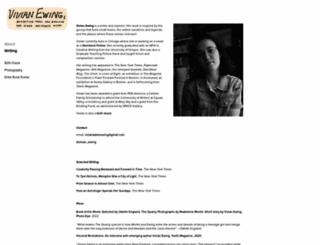 vivianewing.com screenshot