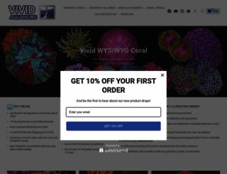 vividaquariums.com screenshot