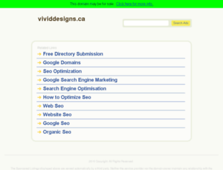 vividdesigns.ca screenshot