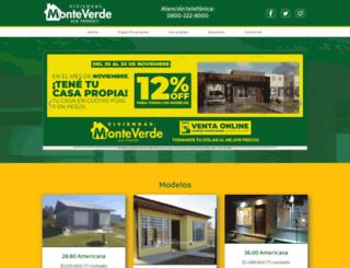 viviendasmonteverde.com.ar screenshot