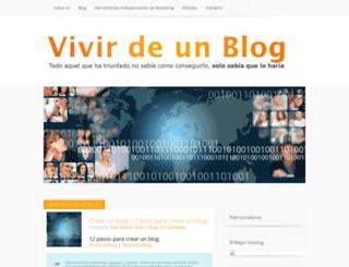 vivirdeunblog.com screenshot