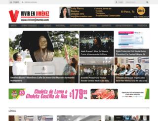 vivirenjimenez.com screenshot