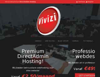 vivizihosting.com screenshot
