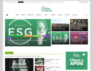 vivoverde.com.br screenshot