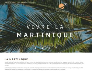 vivre-la-martinique.fr screenshot