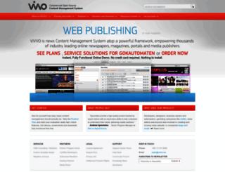 vivvo.net screenshot