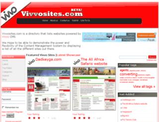 vivvosites.com screenshot