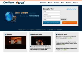 vivyo.canvera.com screenshot