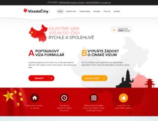 vizadociny.cz screenshot