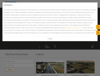vizag.shriramproperties.com screenshot