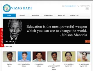 vizagbadi.com screenshot