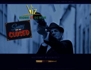vizdezines.ca screenshot