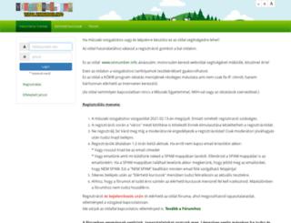 vizsga.vinnumber.info screenshot