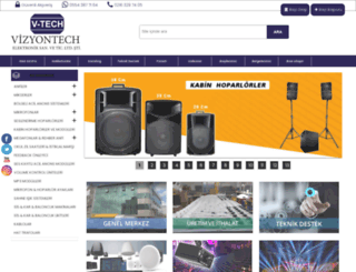 vizyontech.com screenshot